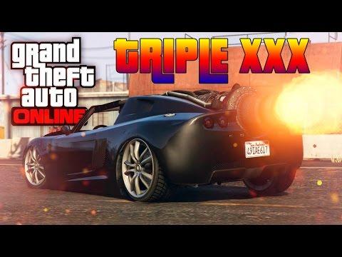 GTA V Online : TRIPLE XXX CARRO FOGUETÃO   ROCKET VOLTIC