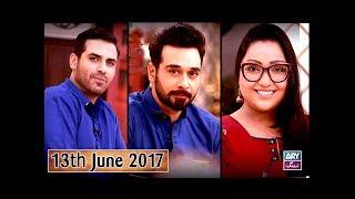 Salam Zindagi - Guest : Yasir Mazhar & Uroosa - 13th June 2017