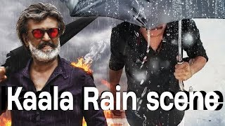 kaala  rain fight   fan made   mass background music