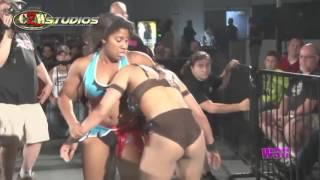 WSU: Uncensored Rules - Athena vs. Hania The Howling Huntress (CZWstudios.com) WOMEN'S WRESTLING
