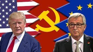Will China Cause US-EU Breakup?