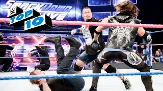 Top 10 SmackDown LIVE moments: WWE Top 10, Oct. 4, 2016