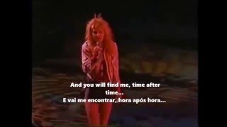 Cyndi Lauper - Time after time live 1986 lyrics+tradução