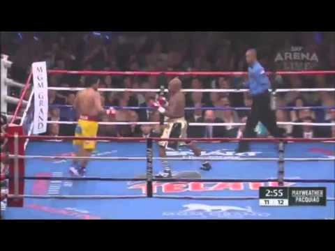 Floyd Mayweather vs Manny Pacqiao highlights