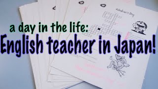 A Day In My Life (as an English teacher in Nara, Japan)!
