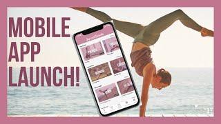 NEW ✨ Yoga with Kassandra MOBILE APP! 😍