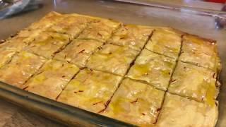 How to make baklava (Jack Wallace)آموزش باقلوا توسط جك دوست عزيزم