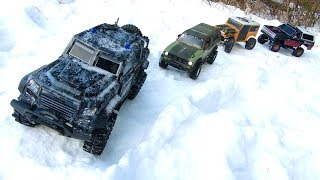 RC ADVENTURES - 4 Guys Driving Tiny Trucks - Maybe You Could Do This..?