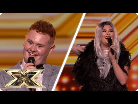 Drag queen Thomas Pound is Simply The Best! | Auditions Week 4 | The X Factor UK 2018