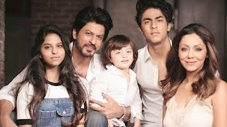 Shah Rukh Khan And AbRam's FIRST Family Photoshoot