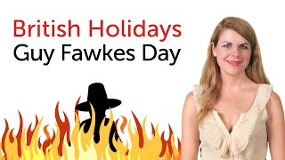 British Holidays - Guy Fawkes Day