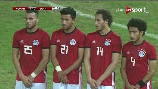 القائم  يحرم منتخب الكويت من تسجيل الهدف الثاني  | مصر vs الكويت | مباراة ودية