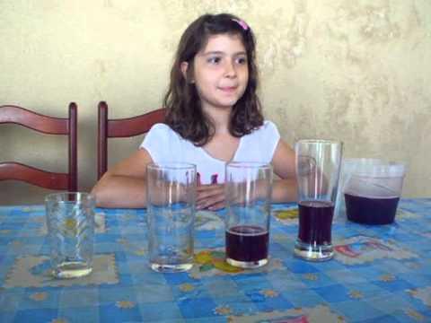 prova piagetiana conservação de liquido