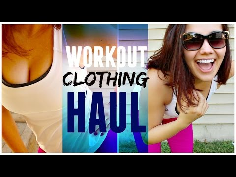 Workout Clothing Haul + Try On! | SHAE