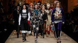 Dolce&Gabbana Fall Winter 2018/19 Women's Fashion Show