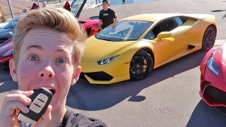 Driving my first Lamborghini! (BRAND NEW)