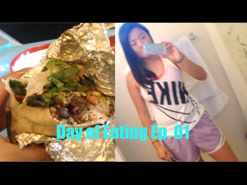 IIFYM Day of Eating Meals Girls