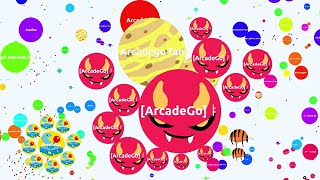 Agario Awesome Team SCORE 87K Trolling In Experimental Mode (Agar.io Trolling Funny Moments)