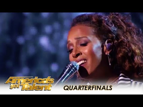 Glennis Grace: The Dutch Star Creates WOW Moment On 'AGT' Live! | America's Got Talent 2018
