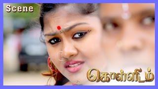 Kollidam Tamil Movie | Scene | Nesam Murali, Ludhiya First Meet & Ramachandran Kidnap School Girl