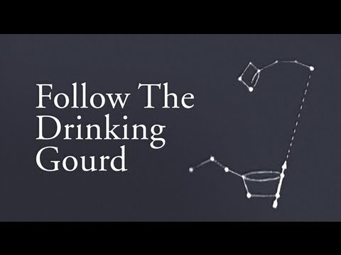 Follow The Drinking Gourd | Slave Escape Song by Peg Leg Joe