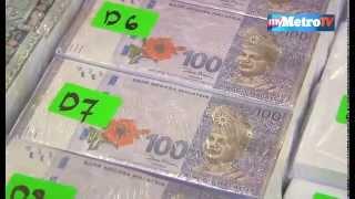 Sindiket 'Black Money' Untung Juataan Ringgit