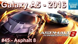 Gameplay Android - Asphalt 8 - Samsung Galaxy A5 2016 - Português