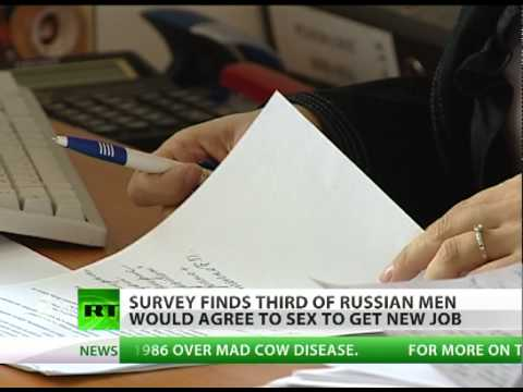 Xxx Mp4 One In Three Russian Men Would Trade Sex For Promotion Vs One In Ten Women 3gp Sex