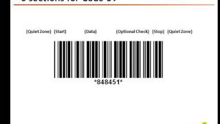 NiceLabel: Code 39 barcode creation