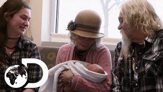The Brown Family Meet Their Newest Member | Alaskan Bush People