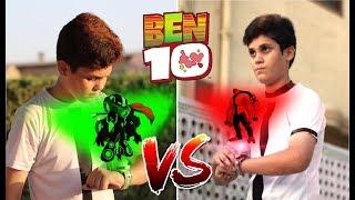 Ben VS Albedo The First Time  Ben 10 Transformations   A Short Film VFX Test