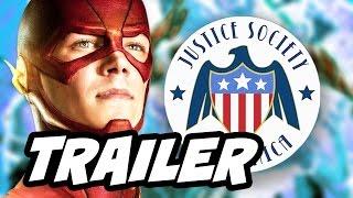 Legends Of Tomorrow Season 2 Justice Society Trailer - The Flash, Supergirl Arrow