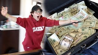 I WON $10,000 FROM MY BEST FRIEND!! (FREAKOUT)