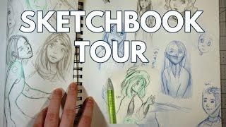 2017 Sketchbook Tour / Flip Through 01