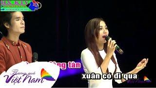 Karaoke Hai Đứa Mình Yêu Nhau - Ngọc Hân ft. Ân Thiên Vỹ