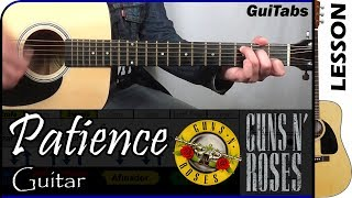 How to play Patience - Guns N' Roses / Guitar Tutorial 🎸