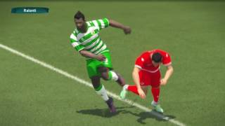 PS4 PES 2017 Gameplay Coton Sport vs Wydad Casablanca HD