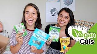 My Roommate Tries Vegan Food! // Vegan Cuts Taste Test