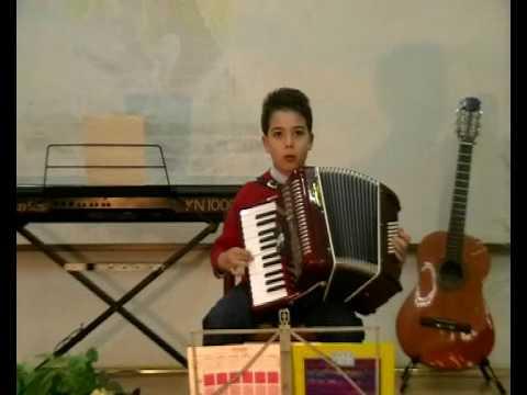 Salvatore Calabrese Il bambino prodigio della fisarmonica