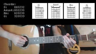 Cody Simpson – On My Mind EASY Guitar Tutorial
