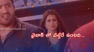 Temper movie action dialogue Telugu WhatsApp status video  By NBR WORLD