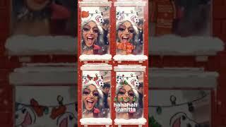 Pabllo Vittar deseja feliz natal com Anitta