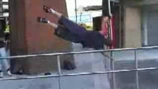 ''urban ninja''(parkour)