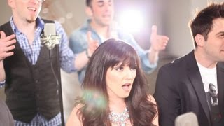 I Knew You Were Trouble / As Long As You Love Me - A Capella - (VoicePlay feat. Rachel Potter)