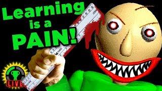 MY TEACHER IS CRAZY!! | Baldi