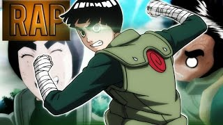 Rap Do Rock Lee | Rap Tributo 02