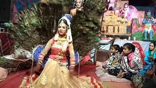 New Radha Krishna Jhanki In UP Jagran Night / Jab se sawre ne pakda mera hath Live Video Recording