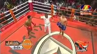 Chan San vs Saengsoriyak (Lao) Bayon Khmer boxing 16/11/2018