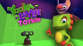 Yooka-Laylee Toybox - Everything You Love And Hate About 90s Platformers