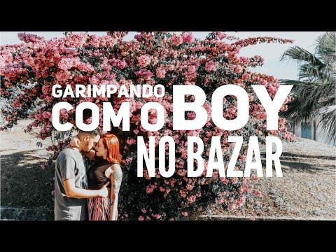 Garimpando ROUPAS MASCULINAS no bazar (com o boy!) | Trashy Fame